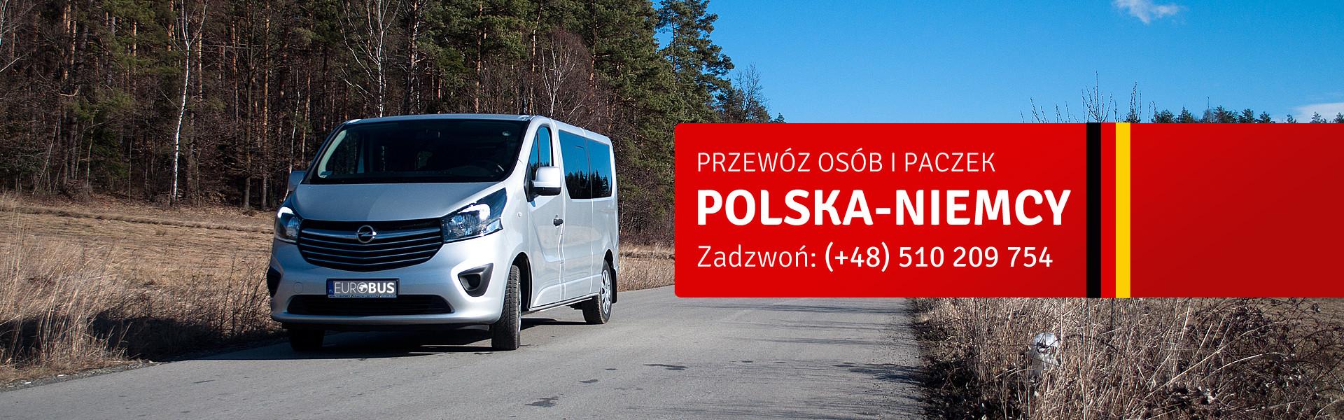 Przewóz osób Polska-Niemcy